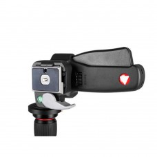 KH-6600 Grip Action Tripod Ball Head with Quick Release 1/4 Inch Thread for Camera