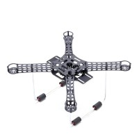 Lji 380 4-Axis Carbon Fiber Quadcopter Frame + PCB Lower Plate + Landing Gear for Aerial FPV
