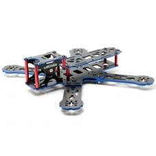 LTX-HEX4-215COM 215mm 4-Axis Carbon Fiber Quadcopter Frame+Motor Mount+Power Distribution Board for FPV