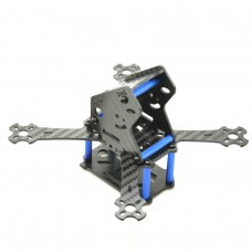 MINI-X-143 LT143 X Frame 4-Axis Carbon Fiber Quadcopter Frame with LT-E700 Camera Bracket