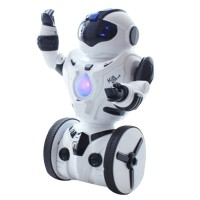RC Robot Smart Waiter Intelligent Balance Wheelbarrow Dance Drive Gesture Battle Action Electric Remote Control Toy Gift