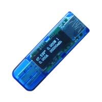 USB 3.0 High Voltage White 4 Bit OLED Detector Voltmeter Ammeter Power Capacity Tester Meter Voltage Current Power Bank