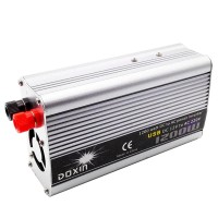 DOXIN 1200W DC 12V to AC 220V Portable Car Power Inverter Charger Converter Transformer Car Power Supply