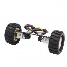 Mini Two Wheeled Balancing Car Chassis Self-Balancing Vehicle N20 with Encoder