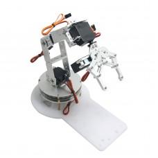 AS-6DOF Aluminium Robotic Arm Metal Arduino Robot Teaching Platform