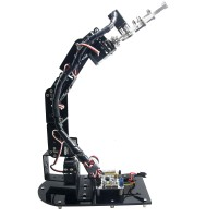 6 DOF Mechanical Robot Arm 3D Rotating Mechanical Arm Robit Kit & 32 CH Controller & MG996R Servo