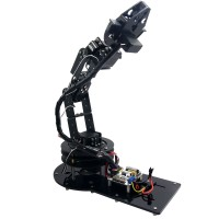 6 DOF Arduino Control Kit Arm Clamp Claw Machinery Mechanical Robot Structure Full Set Mechanical Arm