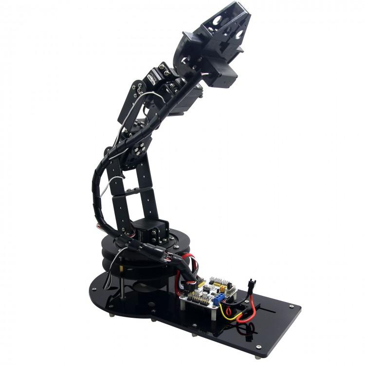 6 DOF Arduino Control Kit Arm Clamp Claw Machinery Mechanical Robot