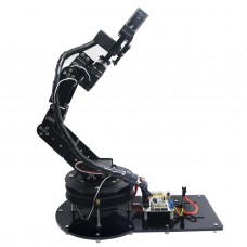 6 DOF Arduino Control Kit Arm Clamp Claw Servos Swivel Rotating Machinery Mechanical Robot Structure Full Set Mechanical Arm