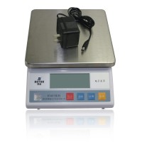 10kg /1g Big Size Digital Electric Jewelry Gram Gold Gem Coin Lab Bench Balance Weight Accurate Scale Electronic Scale Weigh Amput APTP 457A