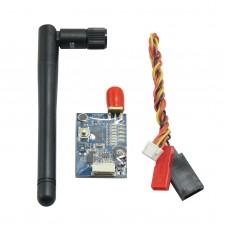 FX799T Mini 600 mW 5.8GHz FPV 40CH AV Transmitter Compatible with IRC Vortex FS Dominator QAV250