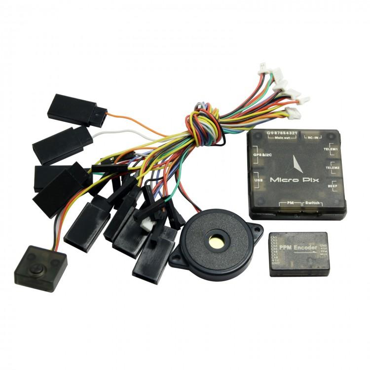 New Mini Micro Pix 32Bit Pixhawk 2.4.6 PX4 Flight Controller for ...
