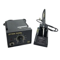 ATTEN AT936b AC220V 50W Lead-Free Thermostatic Soldering Station Solder Iron