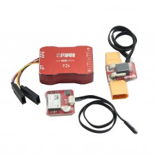 F2S Flight Control with 6M GPS XT60 Galvanometer for FPV RC Fixed-Wing Aircraft