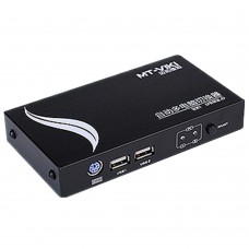 MT-271UK-L USB KVM Switch Sharing Computer Switcher Fast Hotkey Select High Resolution PC Hosts Manage