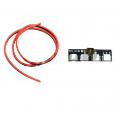 DALRC RGB 5050 LED Board 7-Color LED Decor Module with 3P Switch for FPV Multicopter 5-Pack