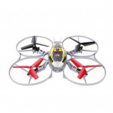 Syma X4A Mini Quadcopter 2.4G Remote Control Aircraft 360 Flip 4CH 4-Axis Helicopter Rotor IR RC Aircraft-Red