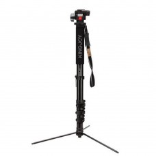 Kingjoy MP408FL Tripod Aluminum Portable Gimbal Monopod Stand for SLR Camera