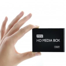 MP013-B MINI HD MEDIA BOX F10 1080P HD TV Multimedia Player Box Support MKV RM-SD USB SDHC MMC HDD-HDMI