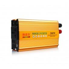 CARMAER 1500W Car Power Inverter DC48V to AC220V Converter Adapter Charger Power Supply Voltage Transformer