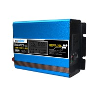 SUS DC12V to AC220V 500W LCD Solar Charger Inverter Voltage Transformer Converter Charger Power Supply
