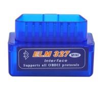 Super Mini ELM327 Bluetooth V2.1 OBD II Mini Elm 327 Car Diagnostic Scanner Tool for ODB2 OBDII Protocols