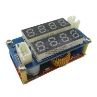 High Quality 5A Constant Current Voltage LED Driver Battery Charging Module Voltmeter Ammeter