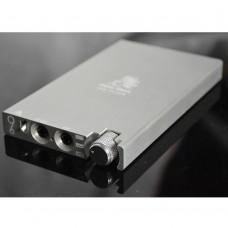 Bluebird U6-Plus Protable Headphone Amplifier OPA2604 Earphone Headset Mini Amp HIFI Amp-Silver