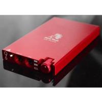 Bluebird U6-Plus Protable Headphone Amplifier OPA2604 Earphone Headset Mini Amp HIFI Amp-Red