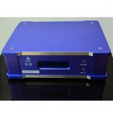 Bluebird D2 AC220V Input HIFI Decoder AK4495S with Screen Display 24B 192K EXAUIS for Audio-Blue