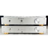 Bluebird DS6.0 HIFI Headphone Amplifier Desktop AMP with Power Cord for Audio- White