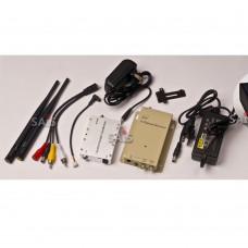 1.2GHz 4W Wireless Audio Video AV Transmitter Receiver Transceiver Telemetry Set for FPV