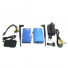 1.3G 10W 4CH Wireless Audio Video AV Transmitter Receiver Transceiver Telemetry Set