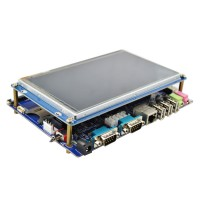 I.MX6 Development Board V2.5 Quad ARM Cortex-A9 I.MX6Q Core Board DIMM200 1GB DDR3 4GB EMMC FLASH + 7 inch LCD