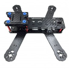 ZG215 215mm 4-Axis 3K Carbon Fiber Frame 3.0mm Arm for FPV Racing Quadcopter
