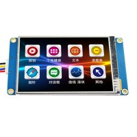 3.5 inch 480x320 Smart Programmable USART HMI Serial Touch TFT LCD Module Display Panel