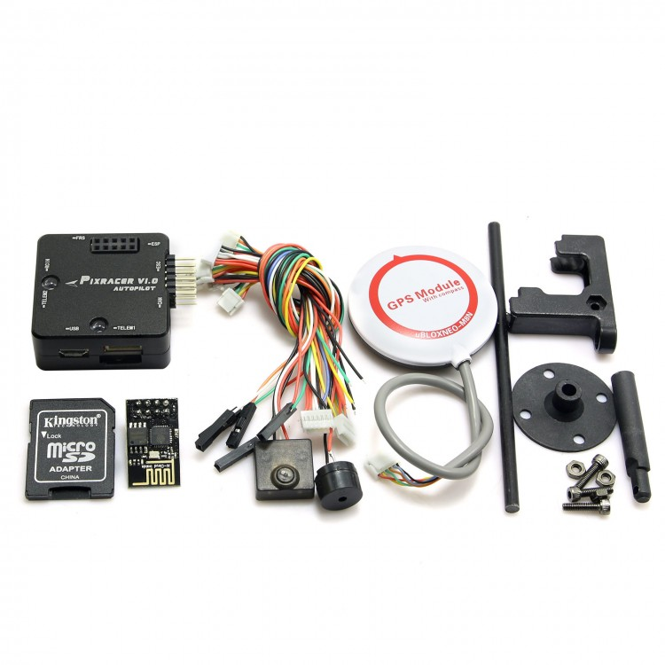Mini Pixracer Autopilot Xracer FMU V4 PX4 Flight Controller + M8N