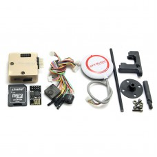 Mini Pixracer Autopilot Xracer FMU V4 PX4 Flight Controller + M8N GPS for FPV Multicopter-Gold