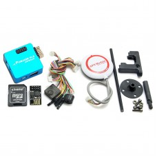 Mini Pixracer Autopilot Xracer FMU V4 PX4 Flight Controller + M8N GPS for FPV Multicopter-Blue