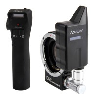Aputure Focus Reducing Adapter Telecompressor Optic Reducer Adapter Wireless Focus Controller DEC LensRegain for MFT