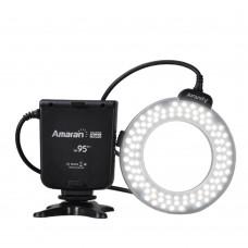 Aputure Amaran Halo AHL-HC100 100 LED Macro Ring Flash Light for Canon DLSR Camera 5D MARK II III 650D 550D 700D 7D 5D2 60D