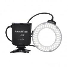 Aputure Amaran Halo AHL-HN100 100 LED Ring Flash Light for Nikon DLSR Camera D610 D600 D800 D7100 D5200 D5300 D3100 D700