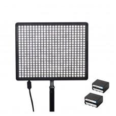 Aputure Amaran AL-528S LED Studio Photo Photography Light Panel Video Lamp for Camera Canon Nikon Sony DSLR