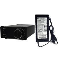 GA-50 Class D TPA3123 2.0 Channel 50Wx2 Digital Amplifier HIFI Home Audio Power Amp + Power Supply-Black