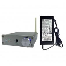 G.E.K G160 TDA7498E 160Wx2 Bluetooth 4.0 HIFI Audio Digital Power Amplifier Headphone Amp w/Power Supply-Silver