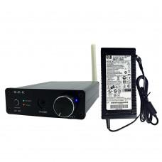G.E.K G160 TDA7498E 160Wx2 Bluetooth 4.0 HIFI Audio Digital Power Amplifier Headphone Amp w/Power Supply-Black