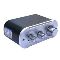 MN50A Dual Channel 12V 50W+50W HIFI Digital Power Amplifier Audio Player AMP-Silver