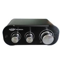 MN50A Dual Channel 12V 50W+50W HIFI Digital Power Amplifier Audio Player AMP-Black