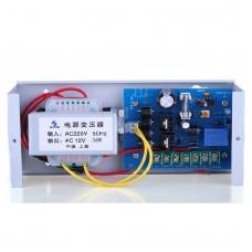 ZUCON 303W Power Supply Controller 12V 3A Access Control Transformer Monitor for Gate Door Lock