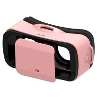 "LEJI VR MINI Virtual Reality Glasses Box 3D Video Movie VR Headset Goggles Google Cardboard Helmet 3.0 for 4.5-5.5"" Phone"